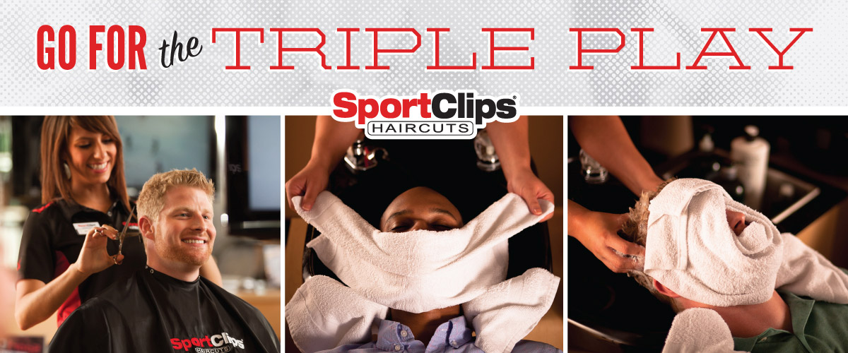 The Sport Clips Haircuts of Fairfield - Gateway Blvd Triple Play